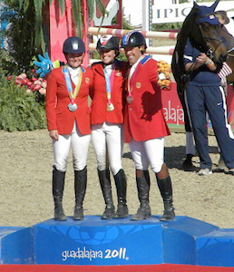 Pan Am Event Team 2011 eventing nation