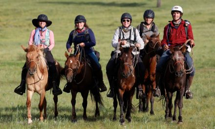 Leslie Wylie's Mongol Derby Adventure by Omega Alpha Equine for 08-28-17