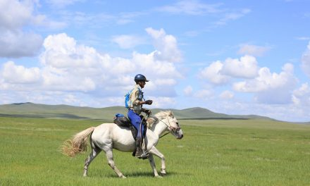 Mongol Derby Special Report for August 14, 2017 with Ivo Marloh