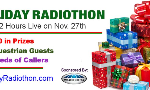 Special Preview of 3rd Annual Holiday Radiothon by Weatherbeeta