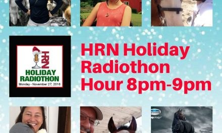 8pm to 9pm- 2017 HRN Holiday Radiothon by Weatherbeeta, Horse Nation