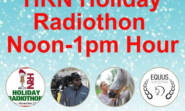 12pm to 1pm- 2017 HRN Holiday Radiothon by Weatherbeeta, Equus Film
