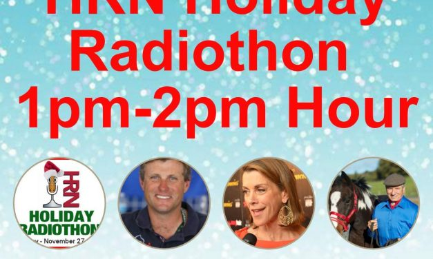 1pm to 2pm- 2017 HRN Holiday Radiothon by Weatherbeeta, Horsemanship Radio