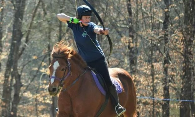 Cool Equestrian Sports:  Horseback Archery, Mounted Shooting – 12-19-17 by CHA