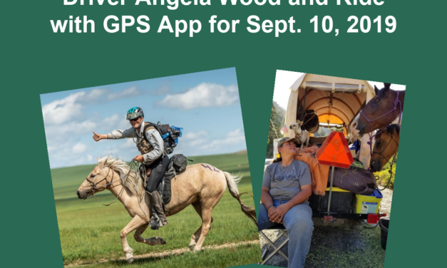 Endurance:  Mongol Derby Winner Robert Long, Long Distance Driver Angela Wood and Ride with GPS App for Sept. 10, 2019
